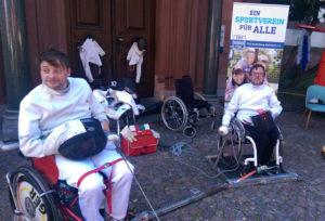 Rollstuhl-Fechten ein interessanter Sport