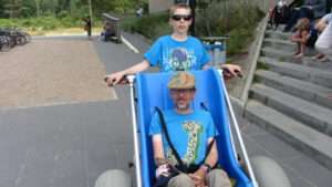 Im Cuxhaven-Urlaub mit dem Wattmobil als Rollstuhlfahrer ins Watt