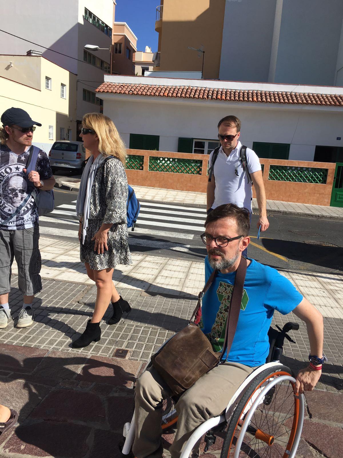 Foto einer barrierefreien Reise nach Teneriffa