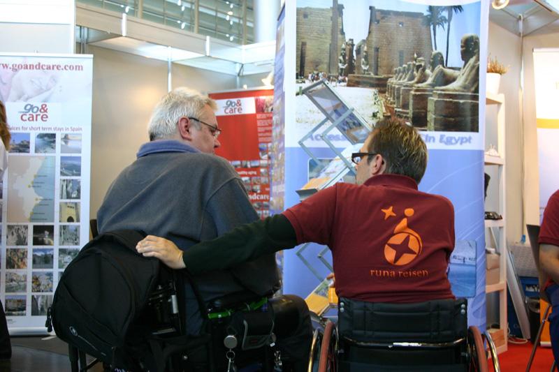 Mit Leib und Seele berate ich andere Rollstuhlfahrer zum Thema Reisen