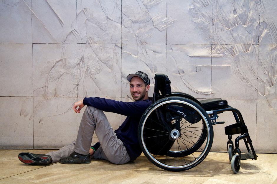 Motivation im Rollstuhl